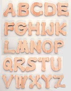 holzbuchstaben und holziffern holzdekoteile mit magnet. Black Bedroom Furniture Sets. Home Design Ideas