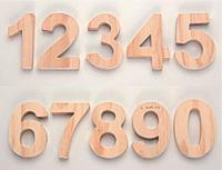 Holzbuchstaben und holziffern holzdekoteile mit magnet for Dekorieren 9 buchstaben