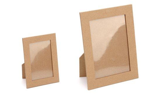Bilderrahmen selber machen aus pappe  Bilderrahmen aus Pappe
