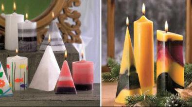 kerzen gie en dekorieren und verzieren anleitungen und tipps. Black Bedroom Furniture Sets. Home Design Ideas