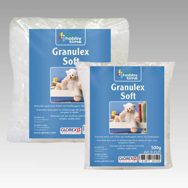 Glorex GmbH 0 2517 Soft Flocks wei/ß 150 g