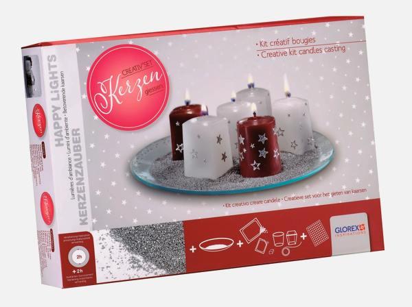 creativ set kerzengie en weihnachten. Black Bedroom Furniture Sets. Home Design Ideas